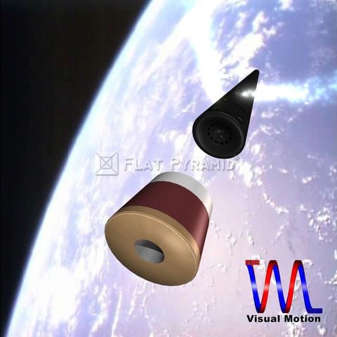 Нарисованная ракеты