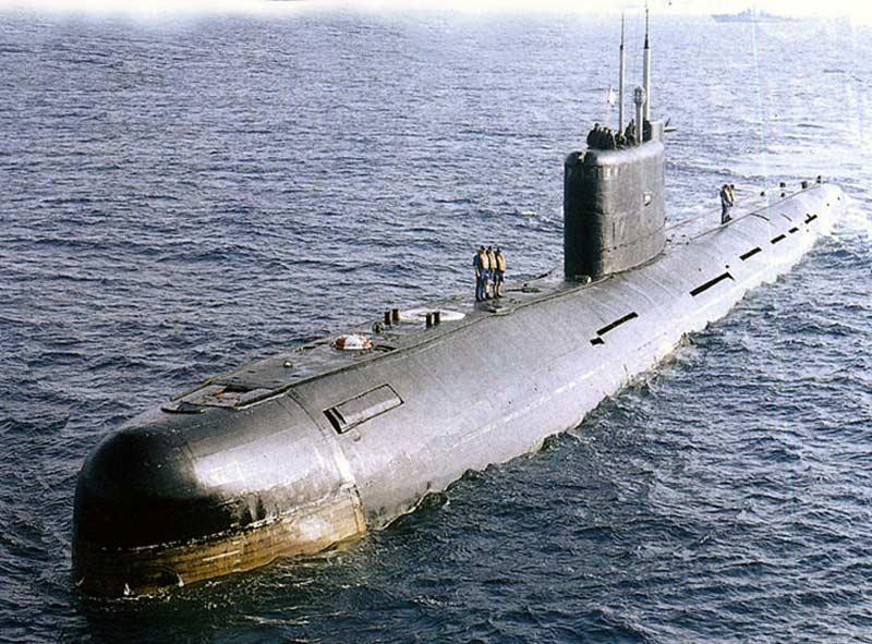 Подводная лодка пр.641Б