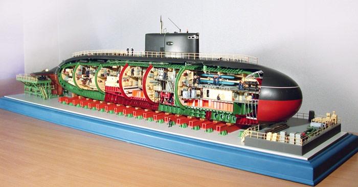 Атомная подводная лодка своими руками