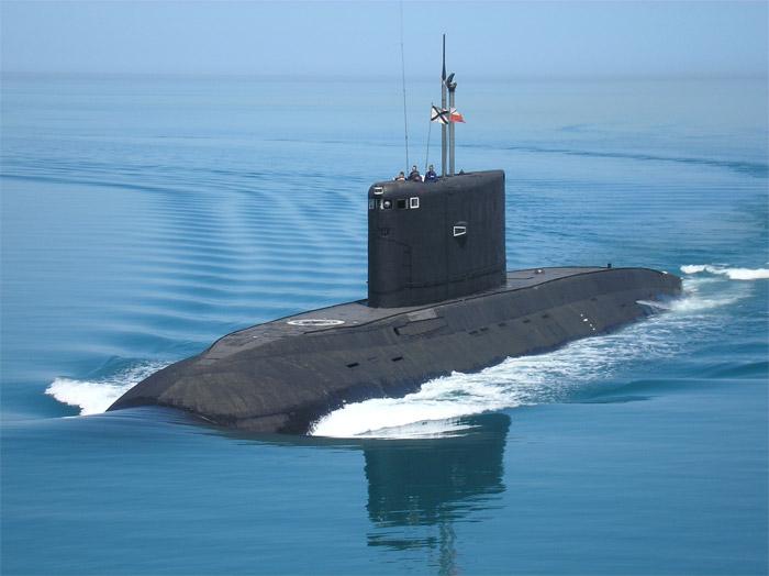Frota Russa do Mar Negro receberá 6 submarinos da classe Kilo nos próximos anos