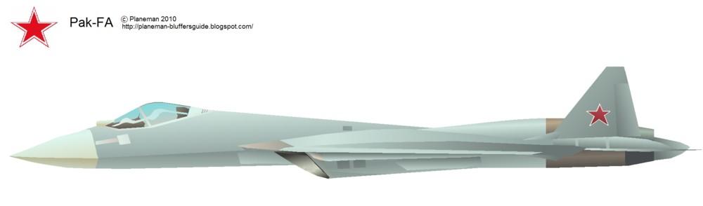 Боковая проекция Т-50-1 (автор