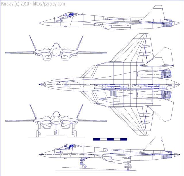 Проекции Т-50-1 (автор