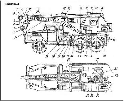 8Т210 на шасси Урал-375