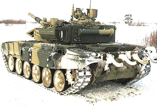 Танк Т-90С с агрегатом КЭ2К