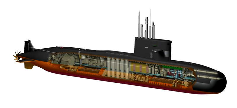 """Подводная лодка """"Амур-950"""""""