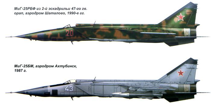 самолет МиГ-25.