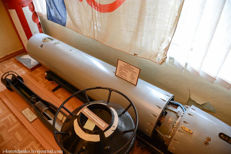 Образец торпеды СЭТ-40 в Музее