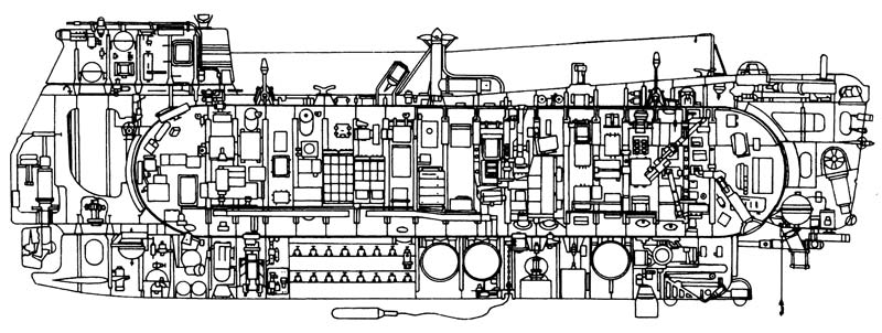 Схема серийного глубоководного