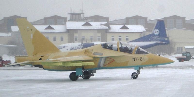 Один из алжирских Як-130