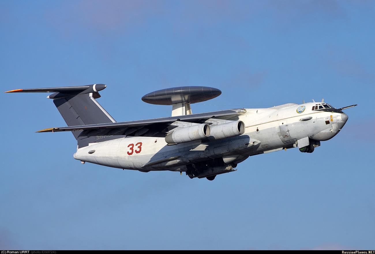 А-50 - MAINSTAY | MilitaryRussia.Ru — отечественная военная ...