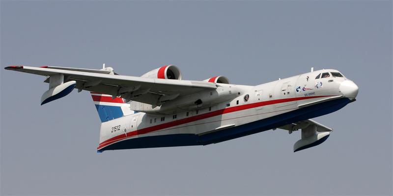второй летный Бе-200,
