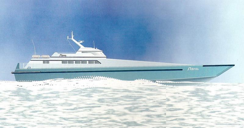 Изображение проекта транспортного судна