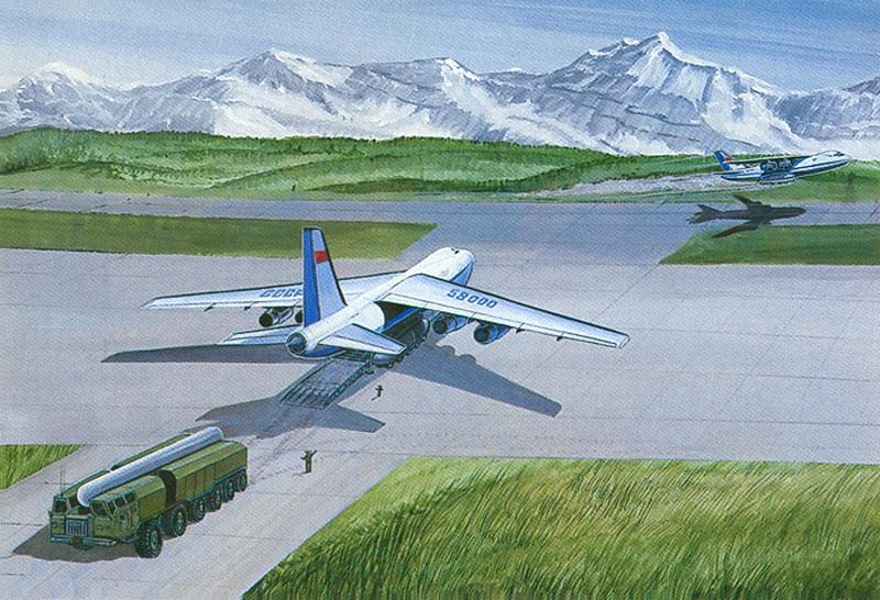 транспортировки на Ан-124