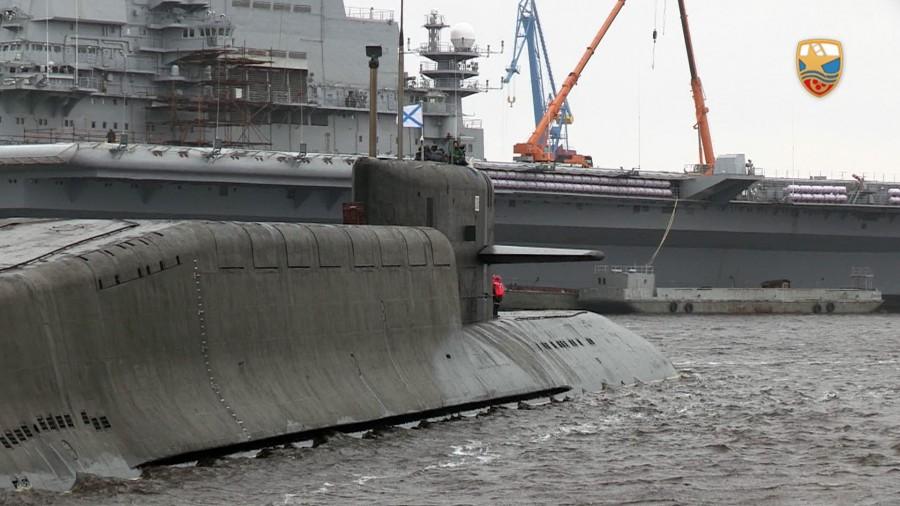 Подводные лодки проекта 667БДРМ «Дельфин»