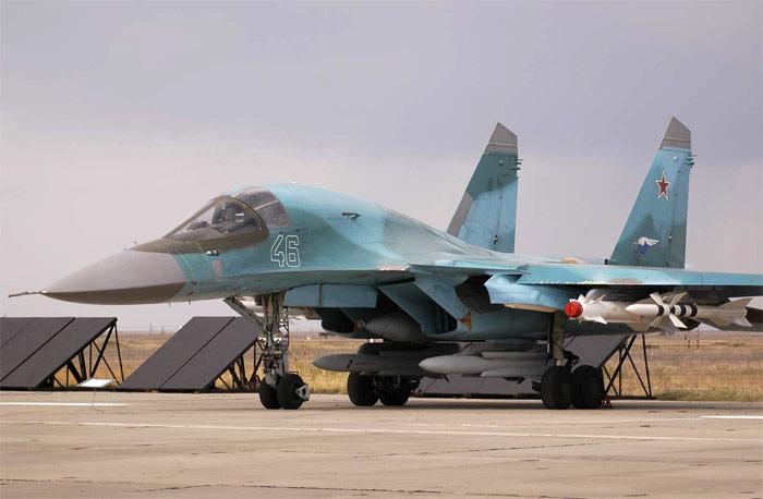 Есть намеки на участие Су-34.