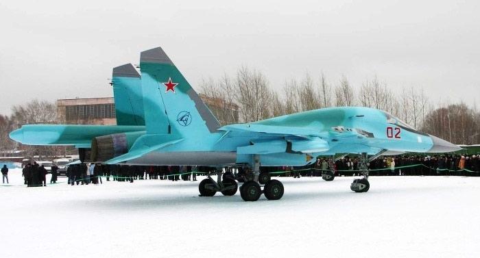 Передача ВВС второго Су-34